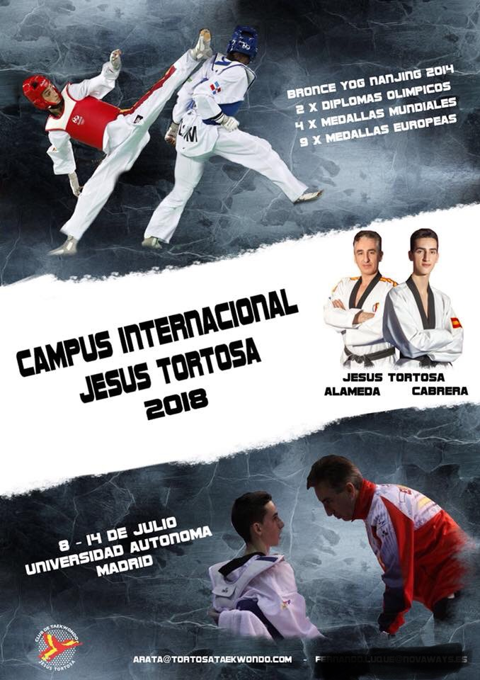 Campus Internacional Jesús Tortosa 2018