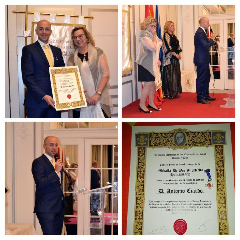 """Nuestro-director-galardonado-con-la-""""Medalla-al-Mérito-Humanitario"""""""